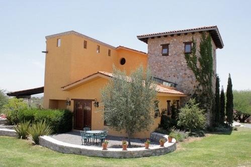 Casa Campestre Sustentable Estilo Toscano En Venta En San