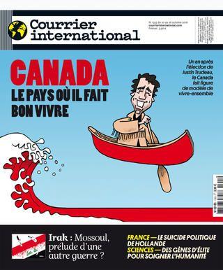 Courrier international N° 1355- 20 octobre 2016
