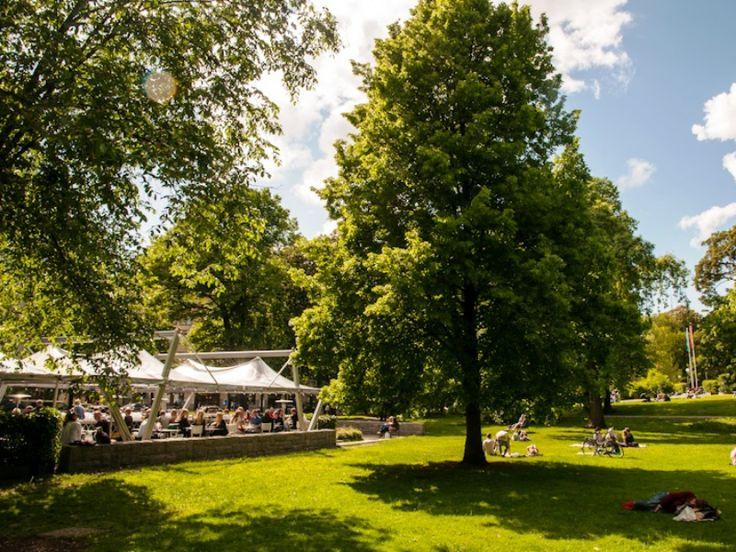 Parcul Humlegarden, Stockholm