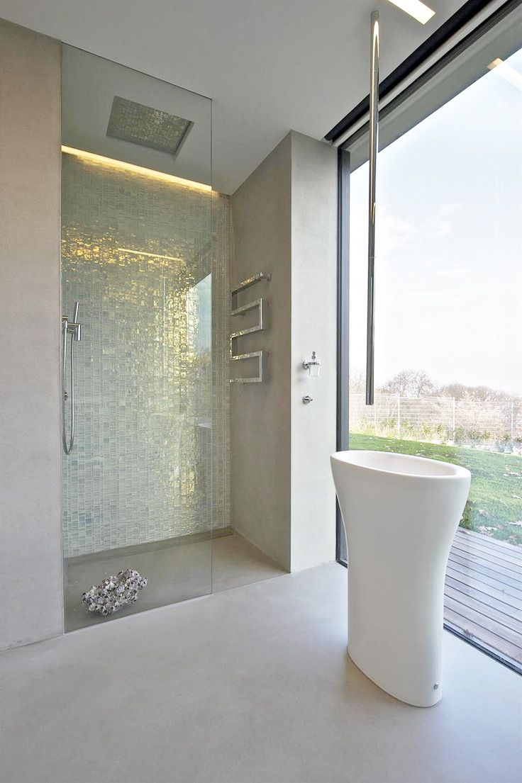 Interior .. Modern bathroom
