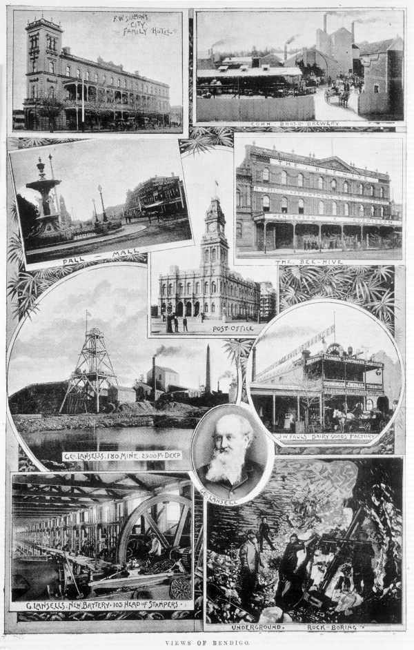 VIEWS OF BENDIGO 1893