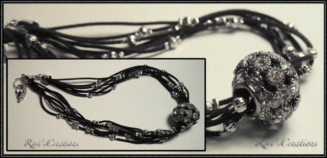 Rori's Creations: Collana con Sfera di strass