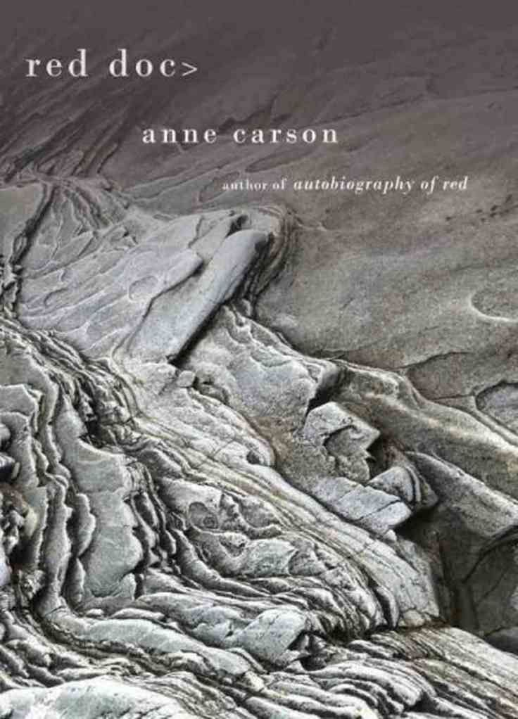 Where can I get an online excerpt of Anne Carson's novel Autobiography of Red?