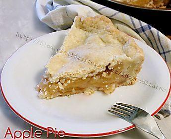 Apple pie - La torta di mele americana | ricetta passo passo