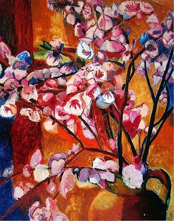 Grace Cossington Smith - Blossom in Earthenware Jug