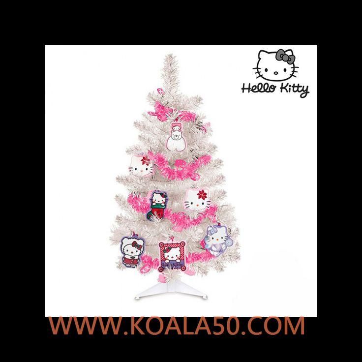 Árbol de Navidad Hello Kitty con Adornos - 4,58 €  Si quieres que los más pequeños se lo pasen en grande decorando la casa con adornos navideños, no te quedes sin el árbol de Navidad Hello Kitty con adornos. Edad recomendada: + 3 años. Medidas...  http://www.koala50.com/regalos-para-cumpleanos-celebraciones/Arbol-de-navidad-hello-kitty-con-adornos