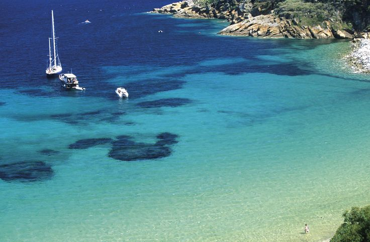 Le Cannelle Beach, in Giglio Island, a fascinating and unique sea spot in the Tuscan Archipelago. #maremma, #tuscany, #italy