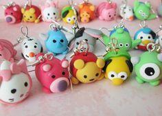 Tsum Tsum Disney Fimo Polymer Clay
