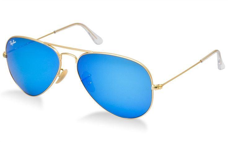 Ray Ban Blue Mirrored Aviator RB 3025 112/17