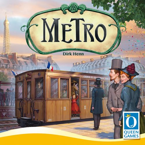 Metro is a tile-laying game where players are attempting to create the longest routes possible for their trains while preventing opponents from doing the same.