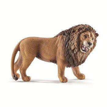 Figurine, en plastique injecté: Lion rugissant