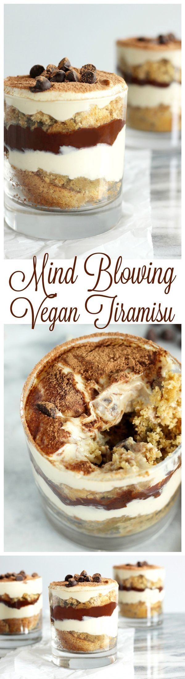 Mind Blowing Vegan Tiramisu