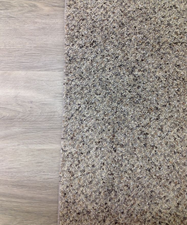 LOVE Southwind's Grey Fleck Carpet - especially paired with a light grey wood floor.