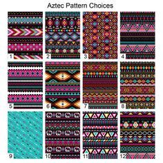 Aztec Car Seat Covers Set of Two Front Seat Covers by ChicMonogram