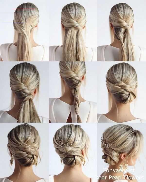 Pin By Jessica Renae On Makeup In 2020 Wedding Hairstyles Tutorial Diy Wedding Hair Easy Homecoming Hairstyles