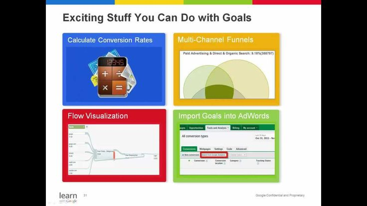 Webinar: Reaching Your Goals with Google Analytics