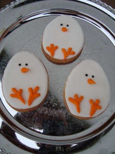 simple, sweet Easter cookies