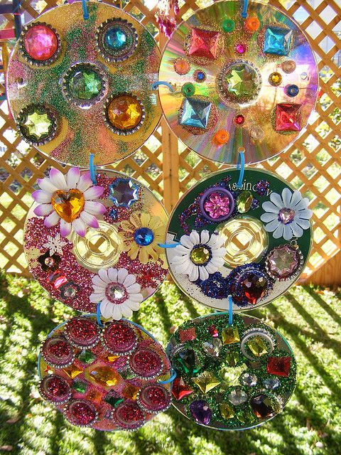 Reuse CDs: ReCYcled SukkAH | Flickr - Photo Sharing!