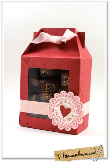 Valentines Day Gable Boxes with WIndows