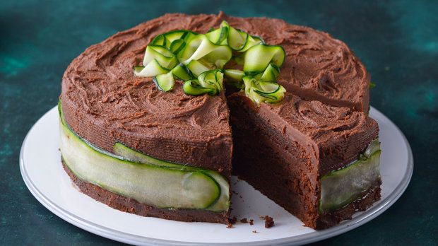 Cuketový čokoládový dort  Foto: