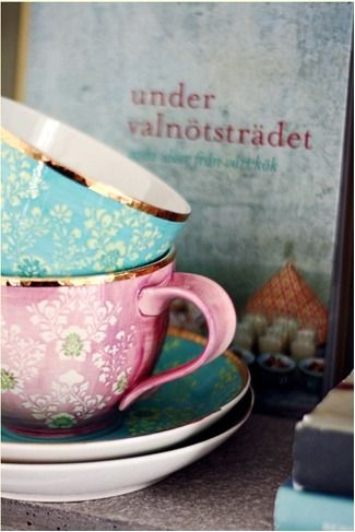 When I have my own apartment, I'll have tons of beautiful teacups with matching saucers