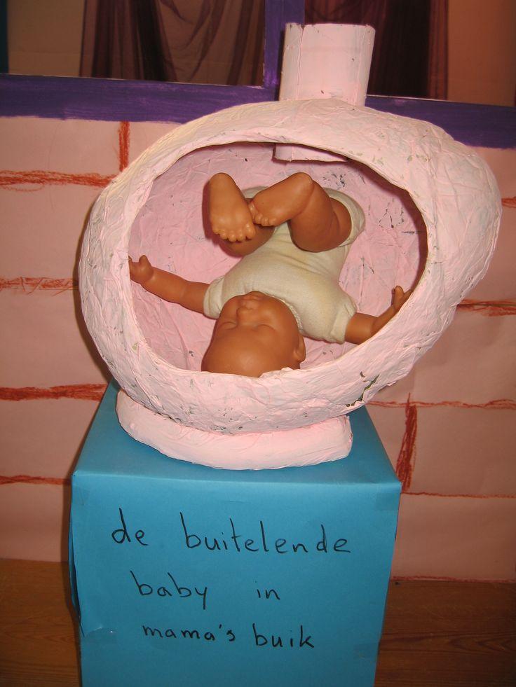 De buitelende baby in mamma's buik 01  verteltafel Nutsschool Maastricht