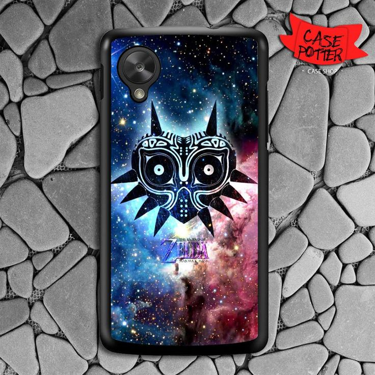 Zelda Majora Mask Nexus 5 Black Case