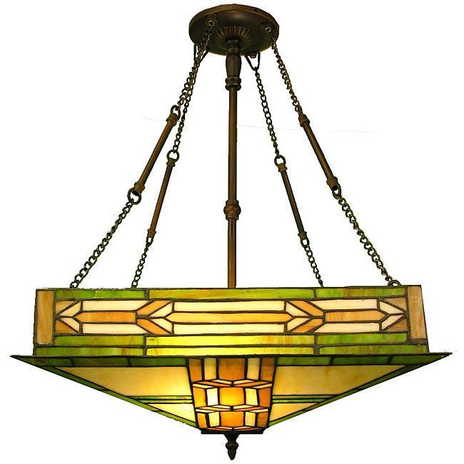 Tiffany Style Mission Ceiling Fixture. Ceiling Light FixturesCeiling LightingDining  Room ... Part 44