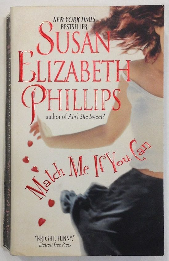 Match Me If You Can : Susan Elizabeth Phillips (2006 Paperback) 6 Chicago Stars