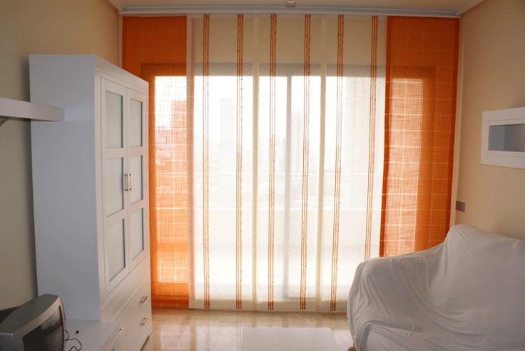 Mejores 19 im genes de cortinas y paneles en pinterest - Cortinas para miradores ...