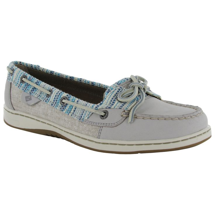 Sperry Womens Angelfish Rafia Moc Slip On Up Boat Shoes