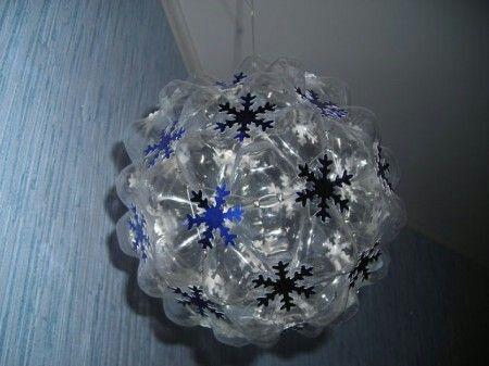 Нрвогодний шар под потолок