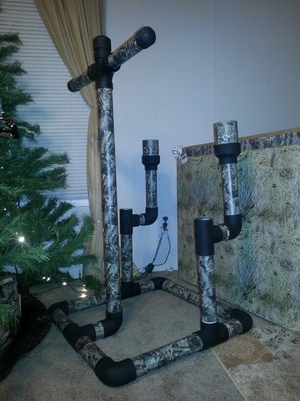 Bow and arrow holder woodworking projects plans for Pvc pipe bow plans
