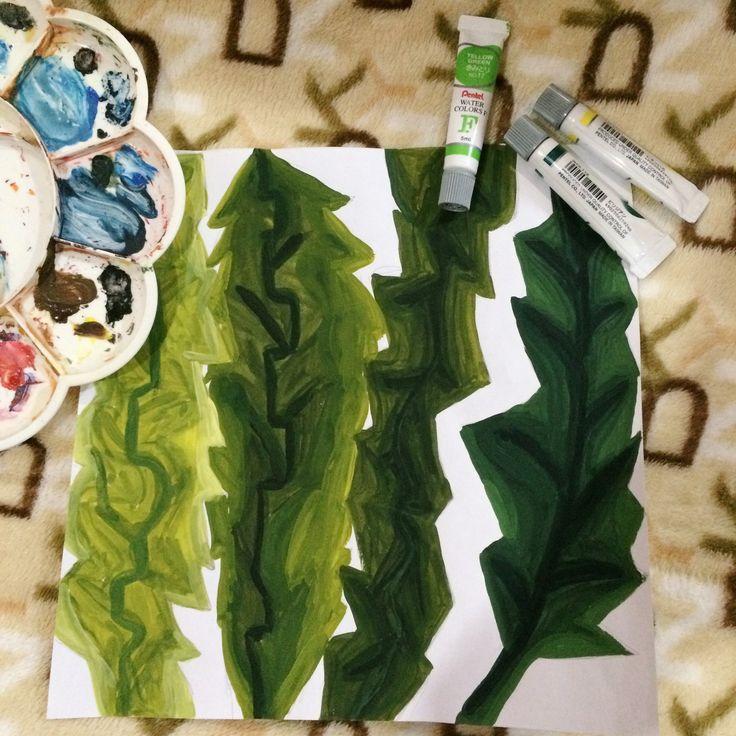Development 1 [green, leaves]