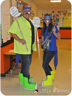 Pete the Cat Dress Up Idea - My class would love this!!!