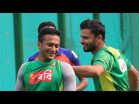 সাকিবকে নিয়ে দুশ্চিন্তা নেই মাশরাফির BD Cricket Latest News