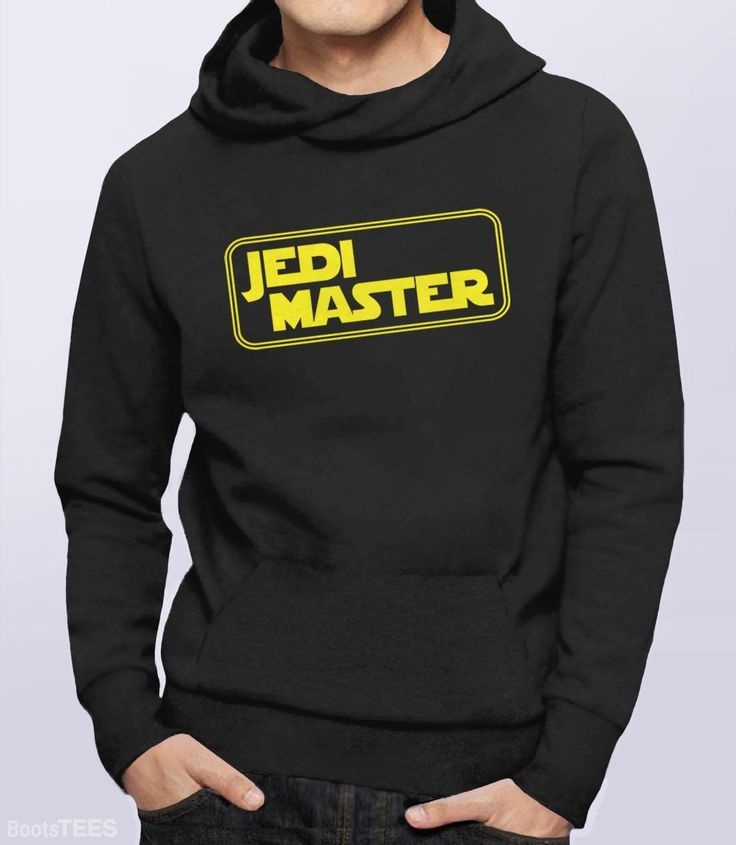 """""""Jedi Master"""" Star Wars Hoodie 