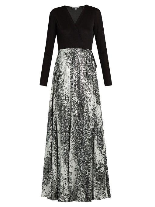 Diane Von Furstenberg Aviva gown