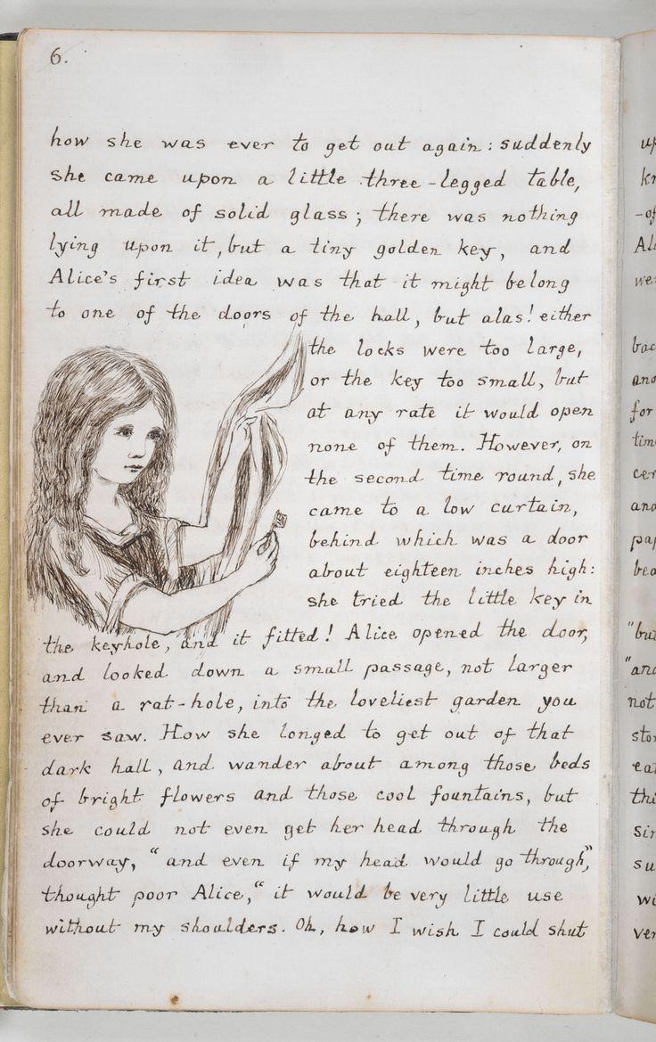 Alice's Adventures Under Ground', the original manuscript version of Alice's Adventures in Wonderland - The British Library