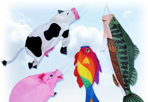 Fish Windsock - Premier Kites & Designs