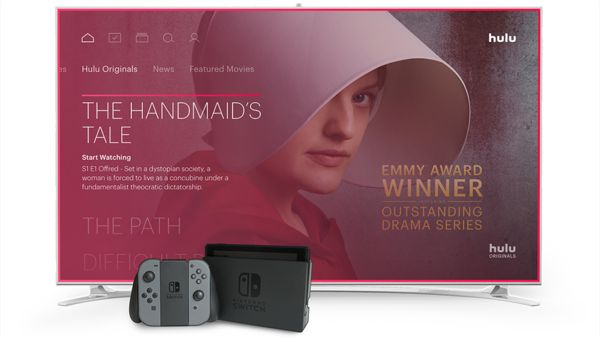 Official PR - Hulu with Live TV now available on Nintendo Switch