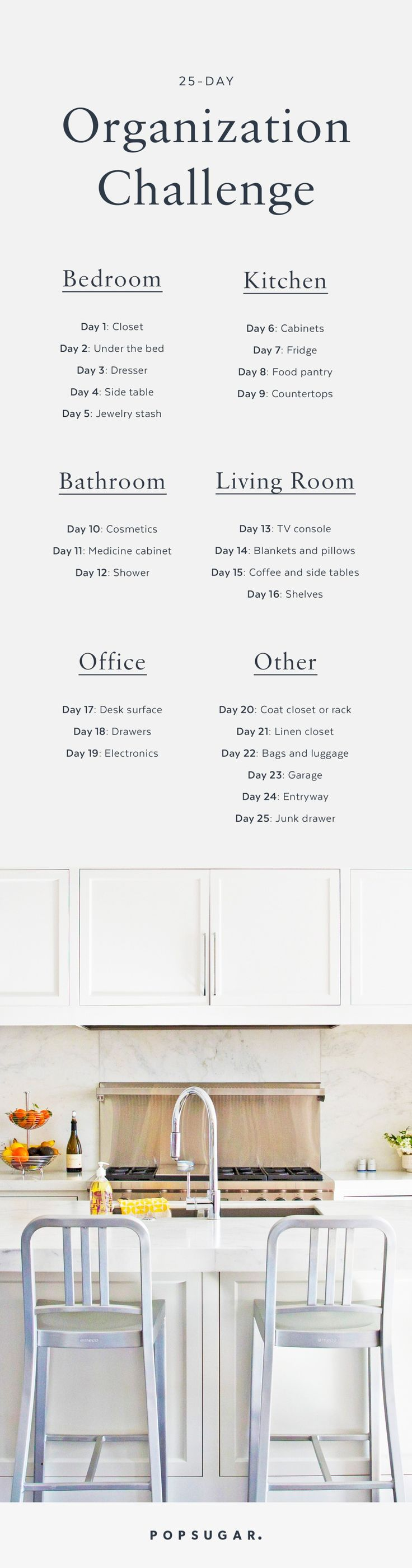 25-Day Organization Challenge