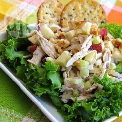 Ensalada de pollo con manzana @ allrecipes.com.mx
