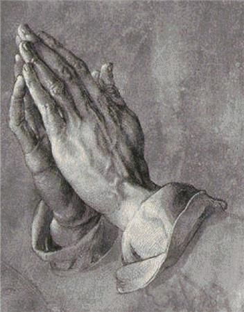 Praying Hands Cross Stitch Pattern – Robert Rhines