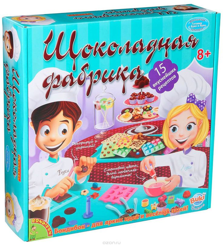 Bondibon Набор для опытов Шоколадная фабрика