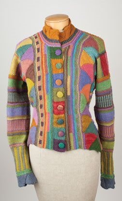 A knitter's dream surface Kathryn Alexander is an internationally known textile artist whose work is characterized by an abundance of color, richly textured surfaces, and whimsical designs. Kathryn has spent her career exploring knitting entrelac and shares her discoveries in her video workshop Entrelac Knitting. We've invited her here to share a little bit of the…