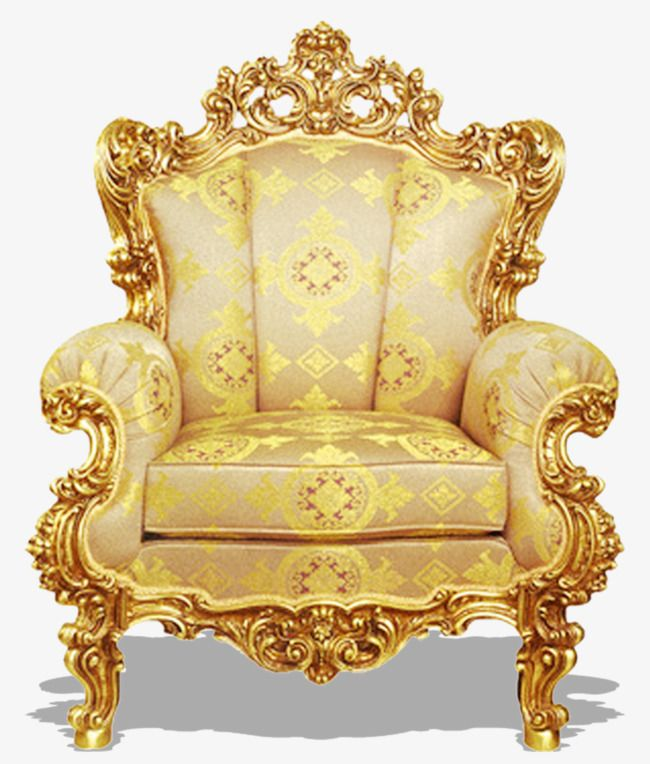 Golden Distinguished Throne Classical Pattern Gold Throne Honorable Png Transparent Clipart Image And Psd File For Free Download Gold Stuhle Deko Sessel