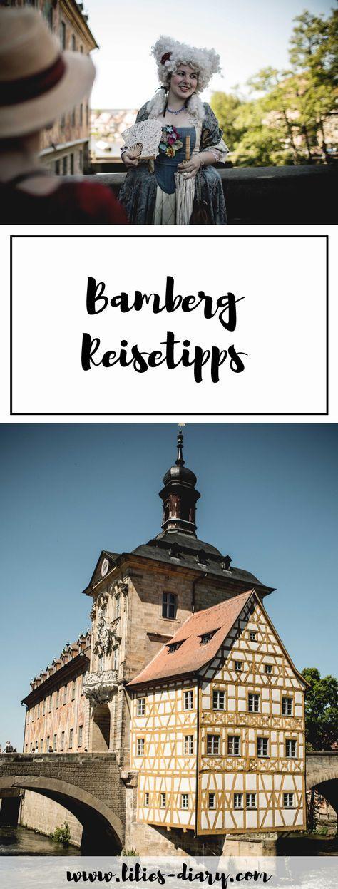 7 Reisetipps für Bamberg in Franken. Unbedingt gemacht haben müsst ihr: Eine Gondel Fahrt durch Klein Venedig, die Fischersiedlung erkunden, durch die Gärtnerstadt schlendern, ein Rauchbier trinken und durch die schönsten Gassen schlendern!