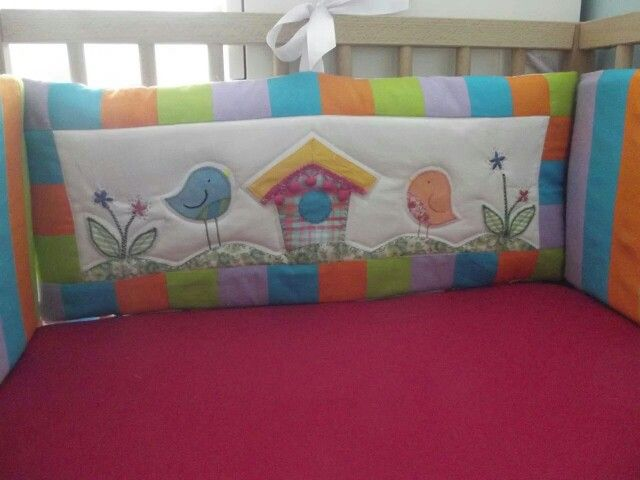 quilting bumper for baby crib