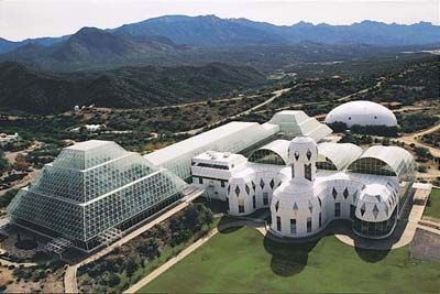Biosphere 2 in Oracle, Ariz., is a spaceship-like glass facility, elevated on a ridge nearly 4,000 feet above sea level at the base of the Santa Catalina Mountains. You can learn about the past and future of our planet there, and be sure to visit the Phoenix Mars Lander exhibit, which holds the spacecraft that landed on Mars in 2008.